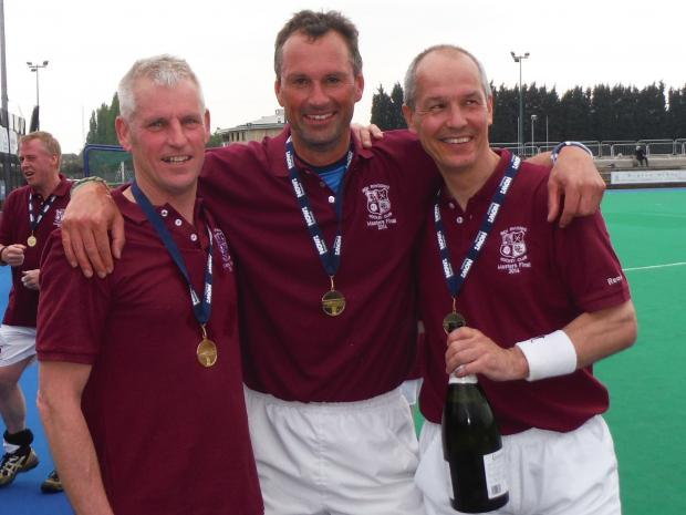 Ilkley Gazette: Ben Rhydding's masterful trio of Rob Ward, Mark French and Andy Locke will represent England