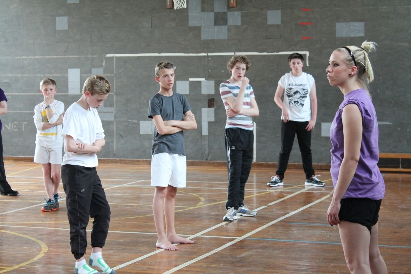 The Phoenix Dance Theatre, alongside Matthew Bourne's New Adventures held a dance workshop at Ilkley Grammar School this week.  They are on the lookout for male dancers for the upcoming production of 'Lord of the Flies' at the Alhambra,. (6