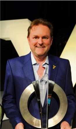 (6674519)Gary Verity wearing a jacket made from 40 mile fleece