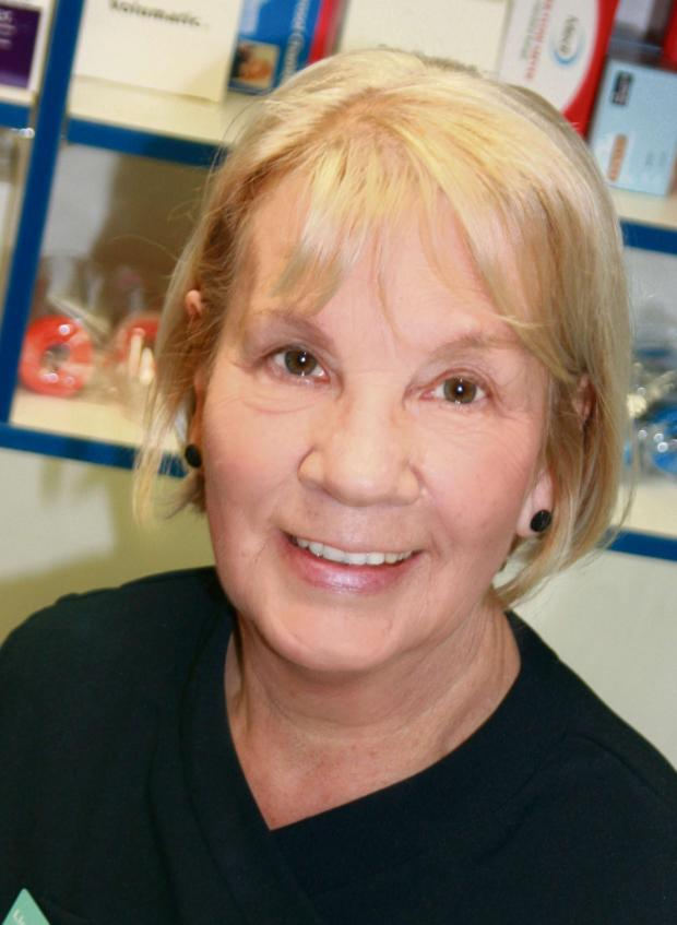 Ilkley Gazette: unknown (6670926)Mary Hulme, who is retiring from Lloyds Pharmacy in Ilkley
