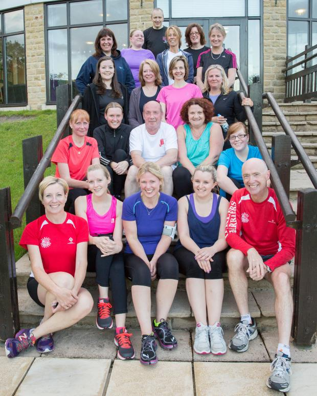Ilkley Gazette: The runners who have completed a 0-5k course with Ilkley Harriers