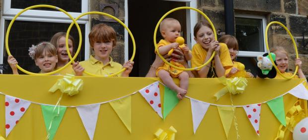 Rhythm Time classes in Wharfedale and Aireborough are getting into the Tour de France spirit.