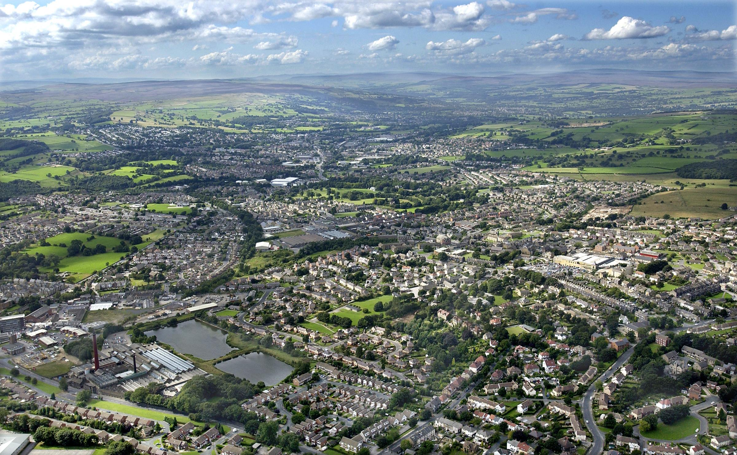 Aerial view of Yeadon