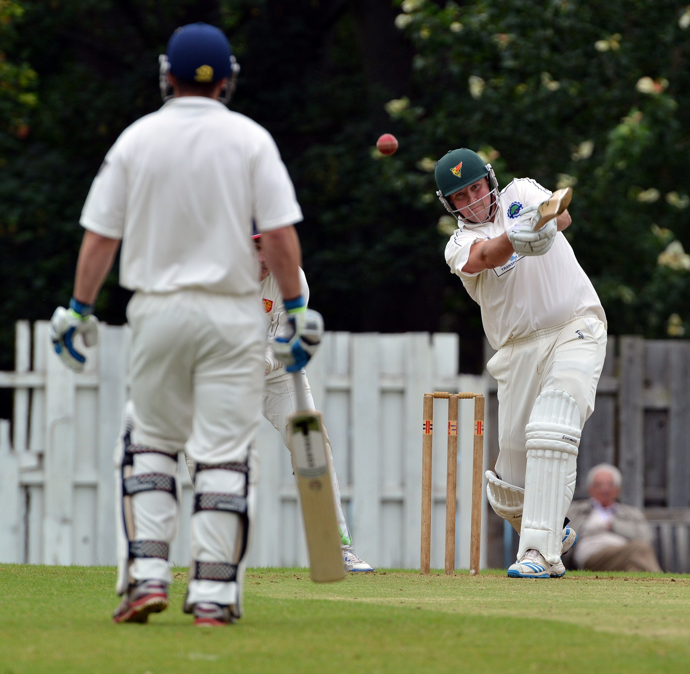Johnson's ton inspires Addingham but there is no Waddilove Cup upset this time