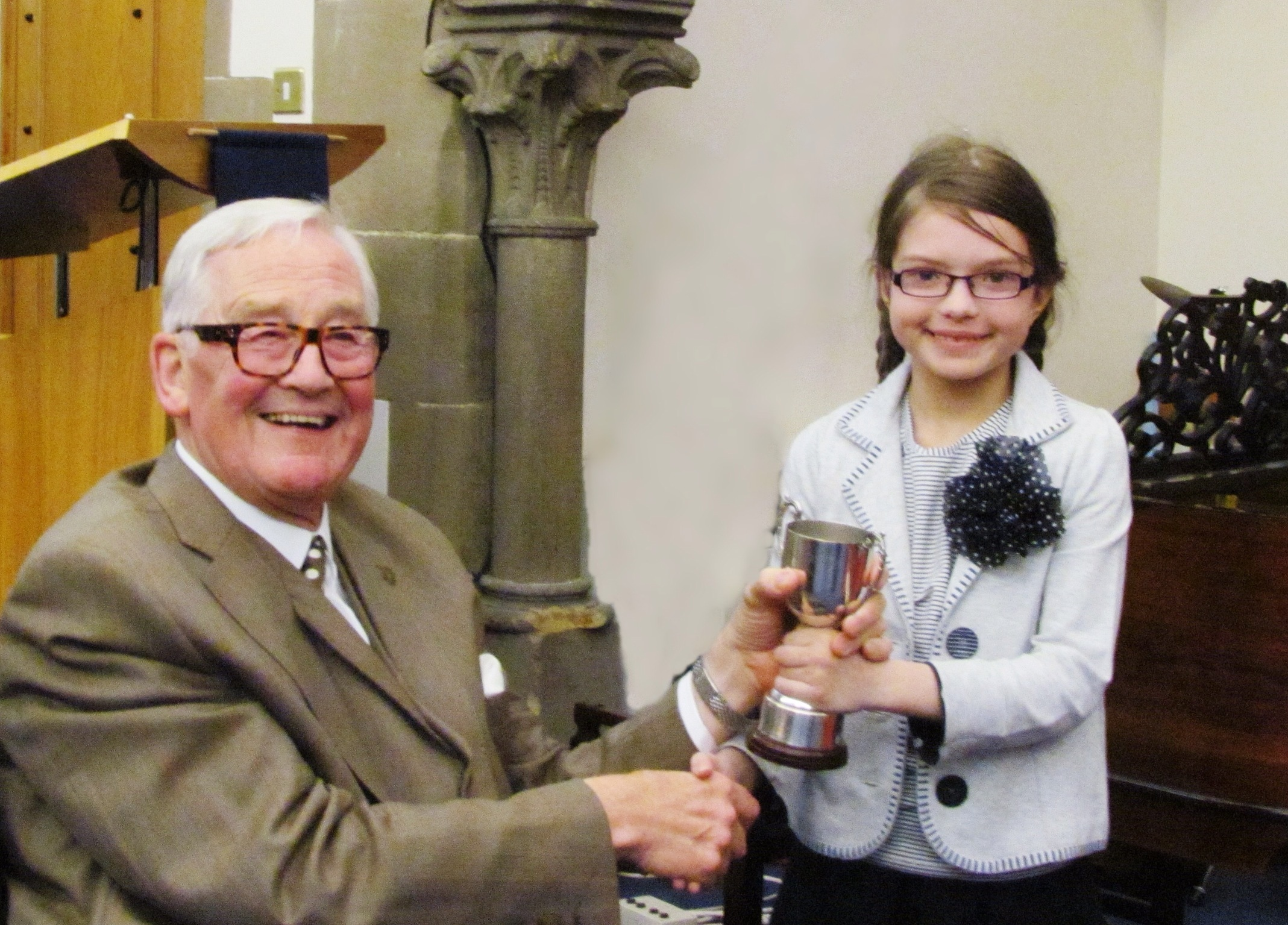 Outstanding success for young pianist