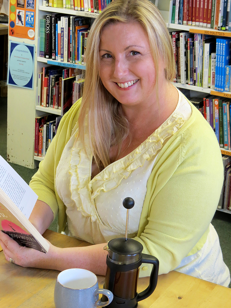 Otley author Emma Tenniswood.