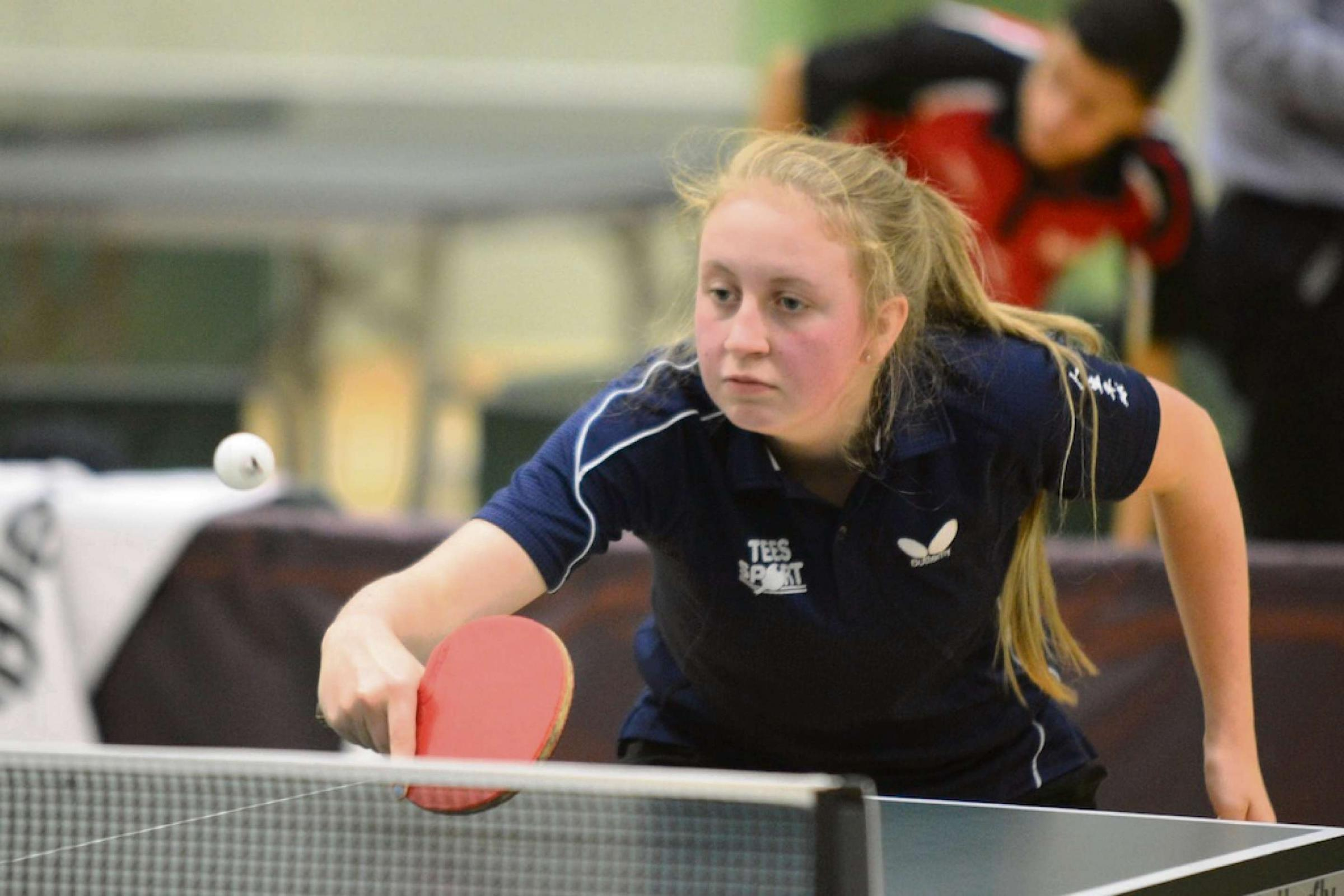 Ilkley table tennis starlet Kate to coach younger players