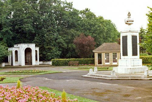 The Ilkley war memorial in the Memorial Gardens at the end of The Grove, where the service will take place