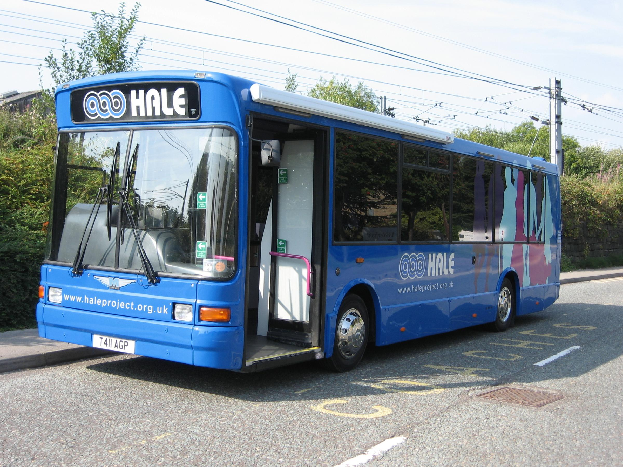 (8860573)The HALE Mobile Outreach Buswill visit venues in Ilkley and Burley-in-Wharfedale this month