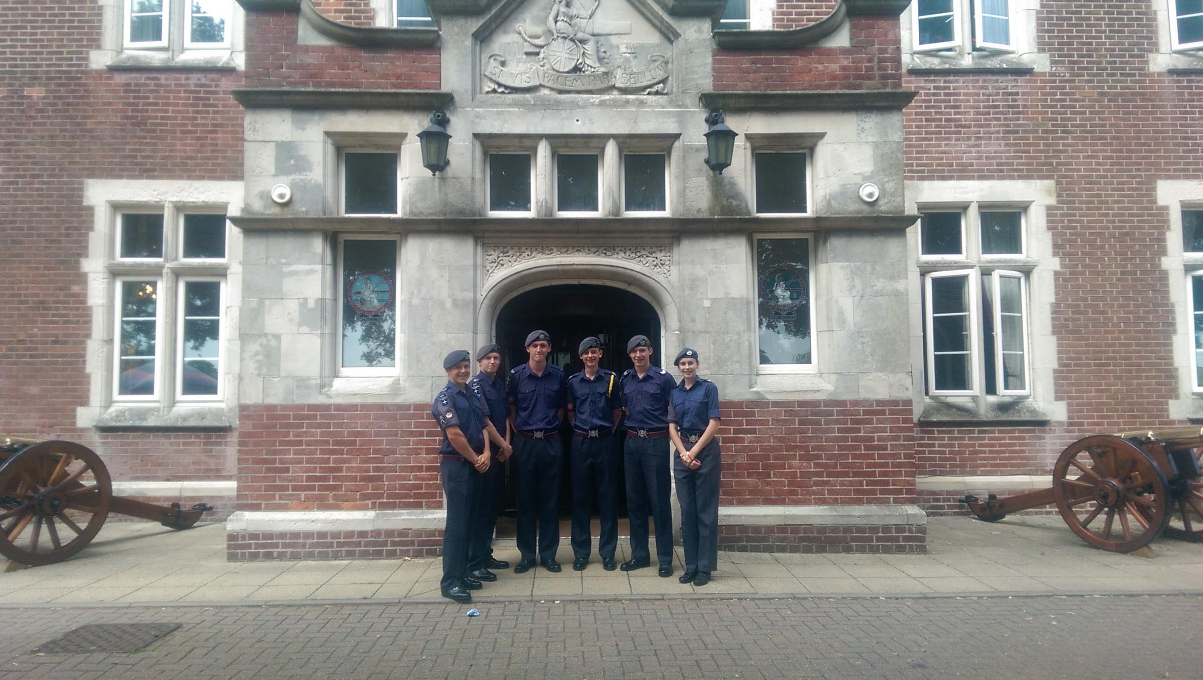 (9071749)Cadets from 1224 (Wharfedale) Squadron at HMS Excellent, Portsmouth