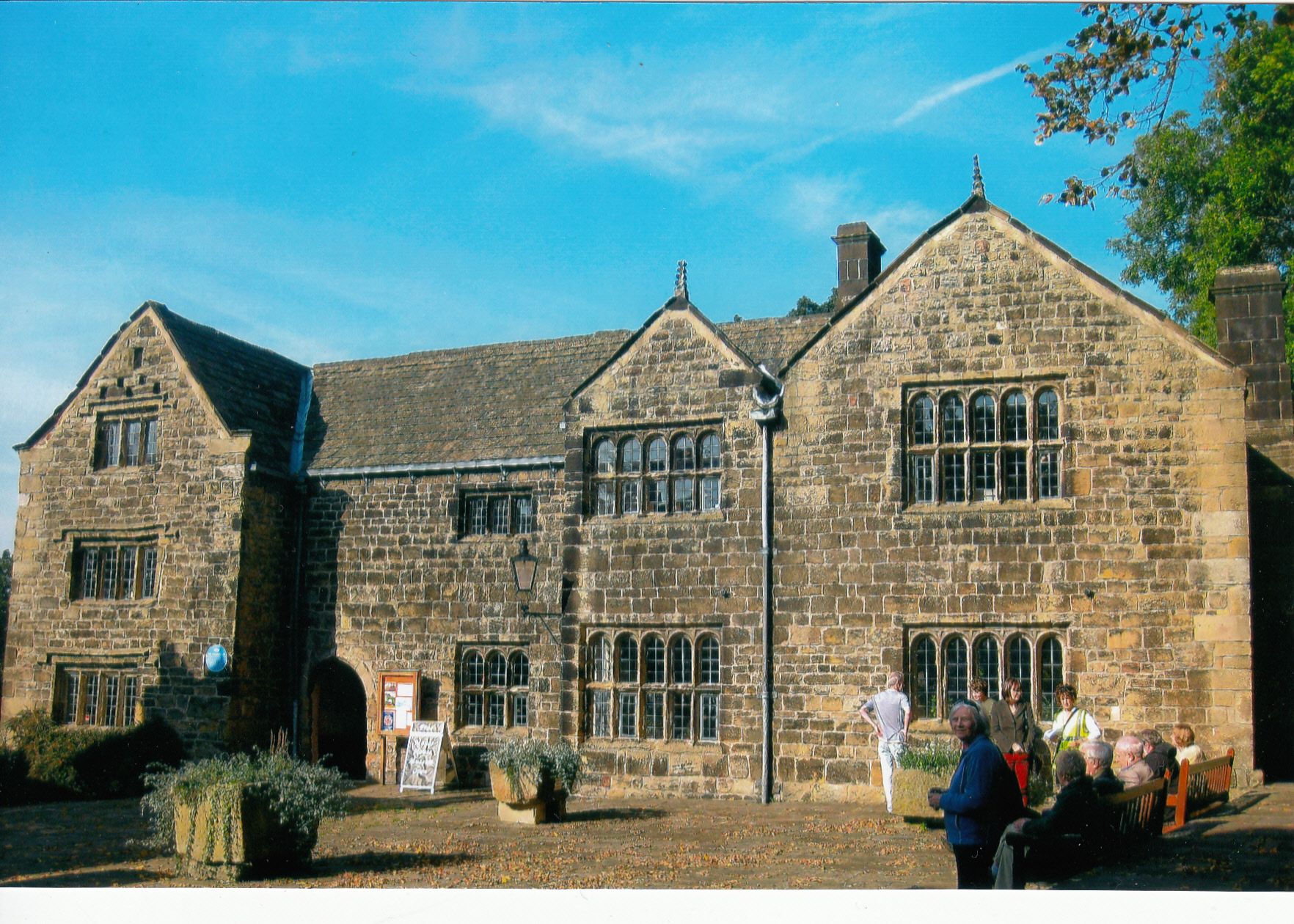The Manor House museum in Ilkley