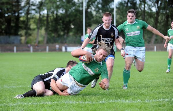 Adam Howard scores for Wharfedale