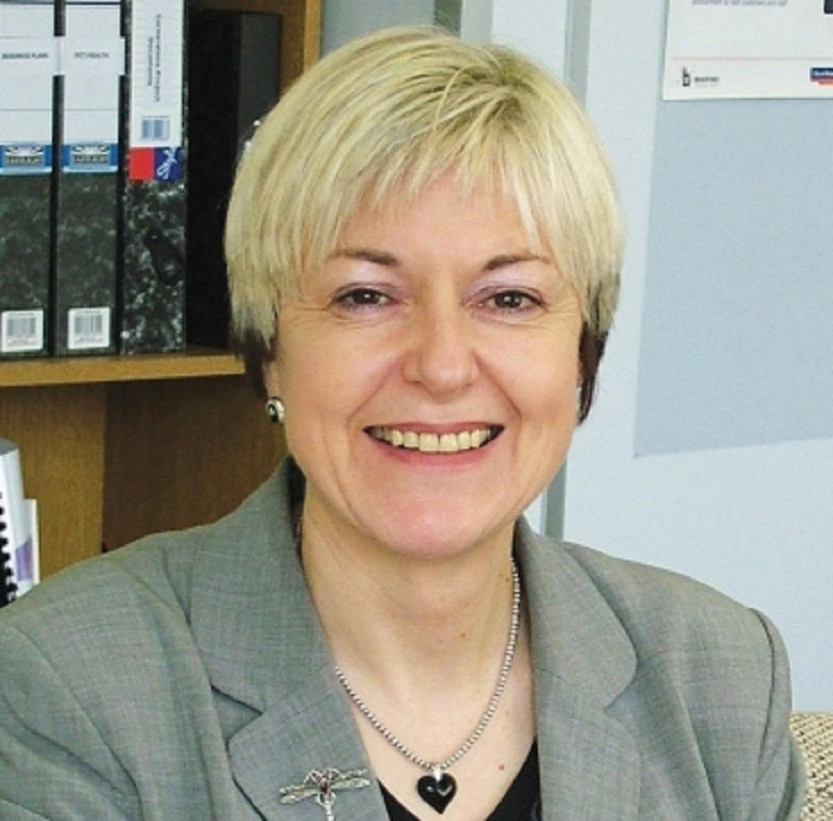 Janice Simpson, chairman of the district-wide Mental Health Partnership - 3373841