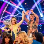 Ilkley Gazette: Caroline Flack and Pasha Kovalev have been crowned winners of Strictly Come Dancing (BBC/PA)
