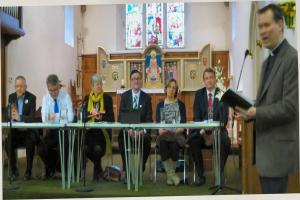 Over a hundred attend political hustings event