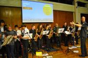 St Mary's students play at the Spirit of Ubuntu concert