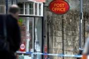 Burley-in-Wharfedale Post Office cordoned off after a previous raid in 2013