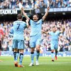 Ilkley Gazette: Frank Lampard signed off in perfect fashion at Manchester City