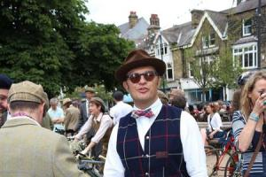 Ilkley Charity Tweed ride is a great success