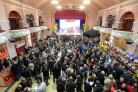Guests at Ilkley Beer Festival last year
