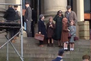 Ilkley children feature in the new Dad's Army which filmed on location in Yorkshire