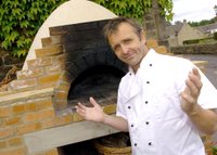 Chris Monkman and the oven