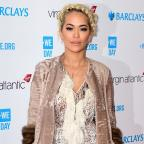 Ilkley Gazette: Rita Ora treated in hospital 'suffering from exhaustion'