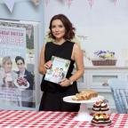 Ilkley Gazette: Candice and her new hairdo praise Bake Off as an 'amazing series'
