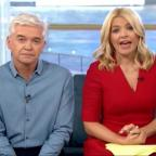 Ilkley Gazette: Holly Willoughby apologises after Joey Essex swears on This Morning