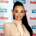 Ilkley Gazette: Chelsee Healey cried when she found out she was pregnant