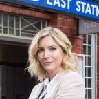 Ilkley Gazette: Lisa Faulkner delights fans as she make EastEnders debut