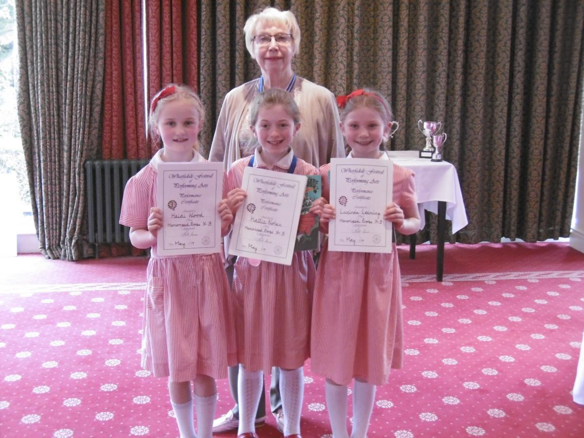 Wharfedale Festival of Performing Arts is a resounding success ...