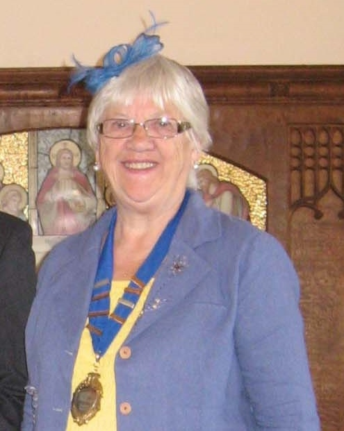 Chairman of Pool-in-Wharfedale Parish Council, Councillor Hazel Lee