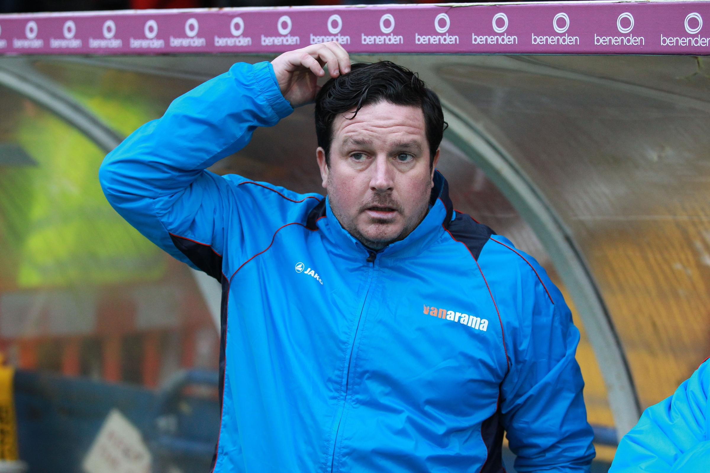 Barrow's manager Paul CoxPaul Cox is waiting for transfer window to open