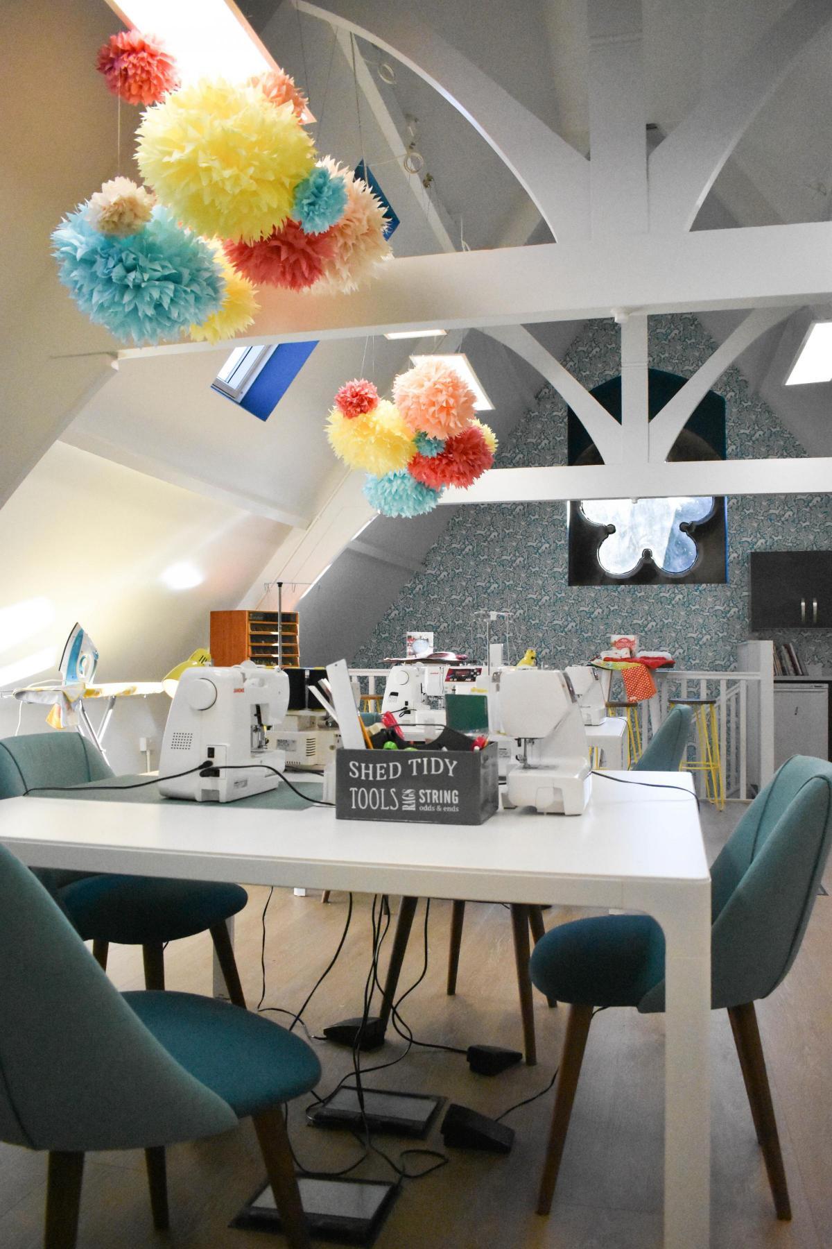 sewing moves into historic ilkley chapel ilkley gazette
