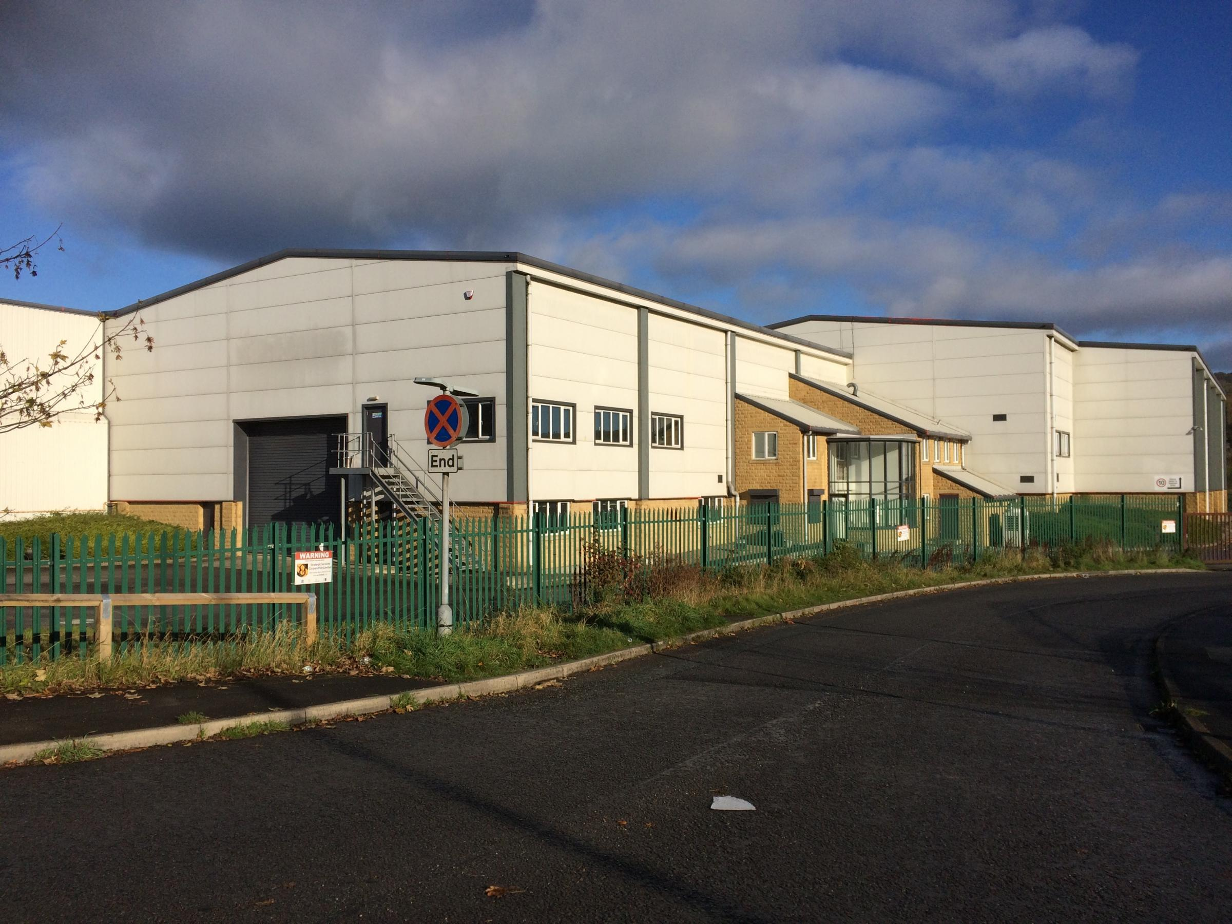 The former Fuzzwire premises which will become the new base for Dales Dairies in Keighley