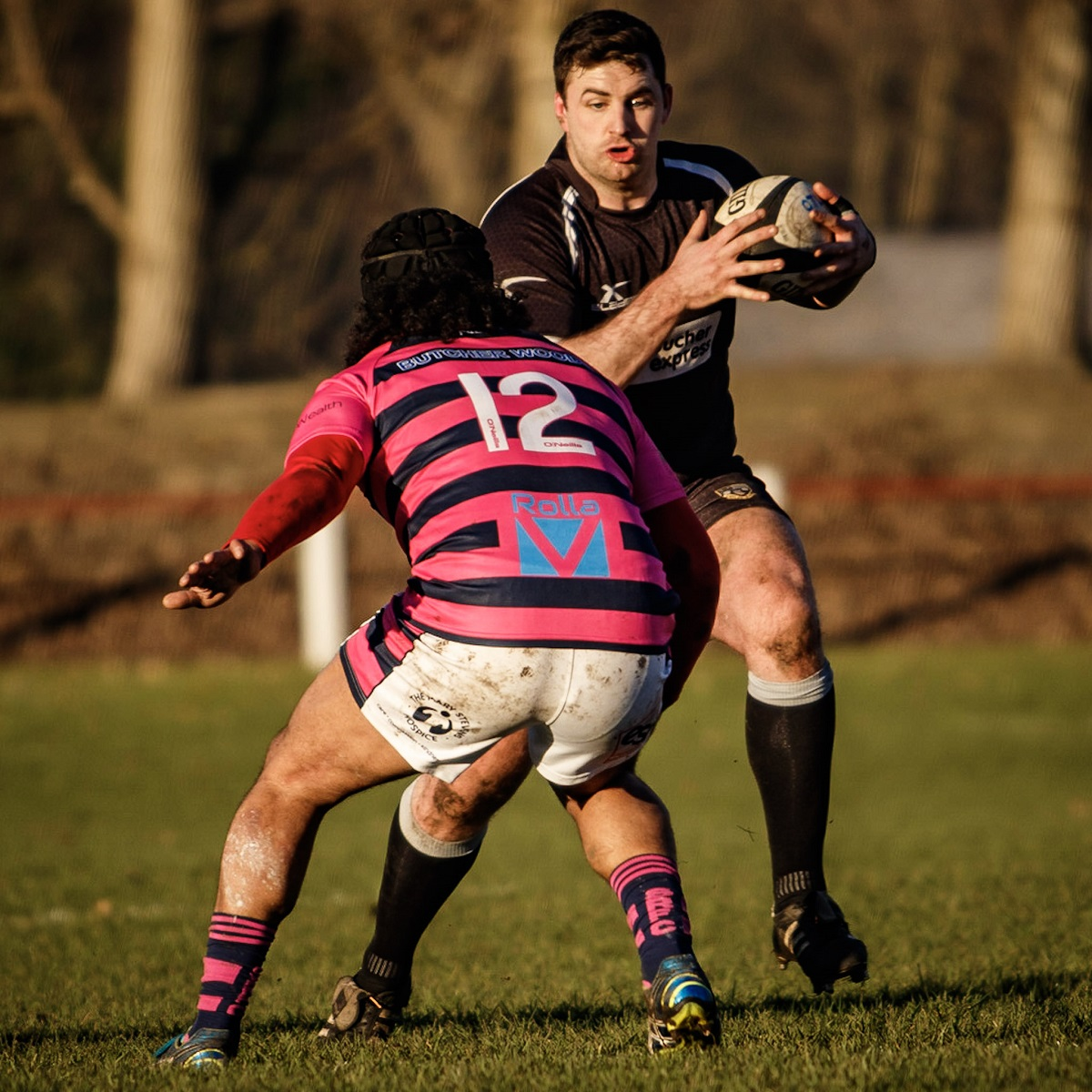 Centre Jack Mackie is hoping to return for Otley