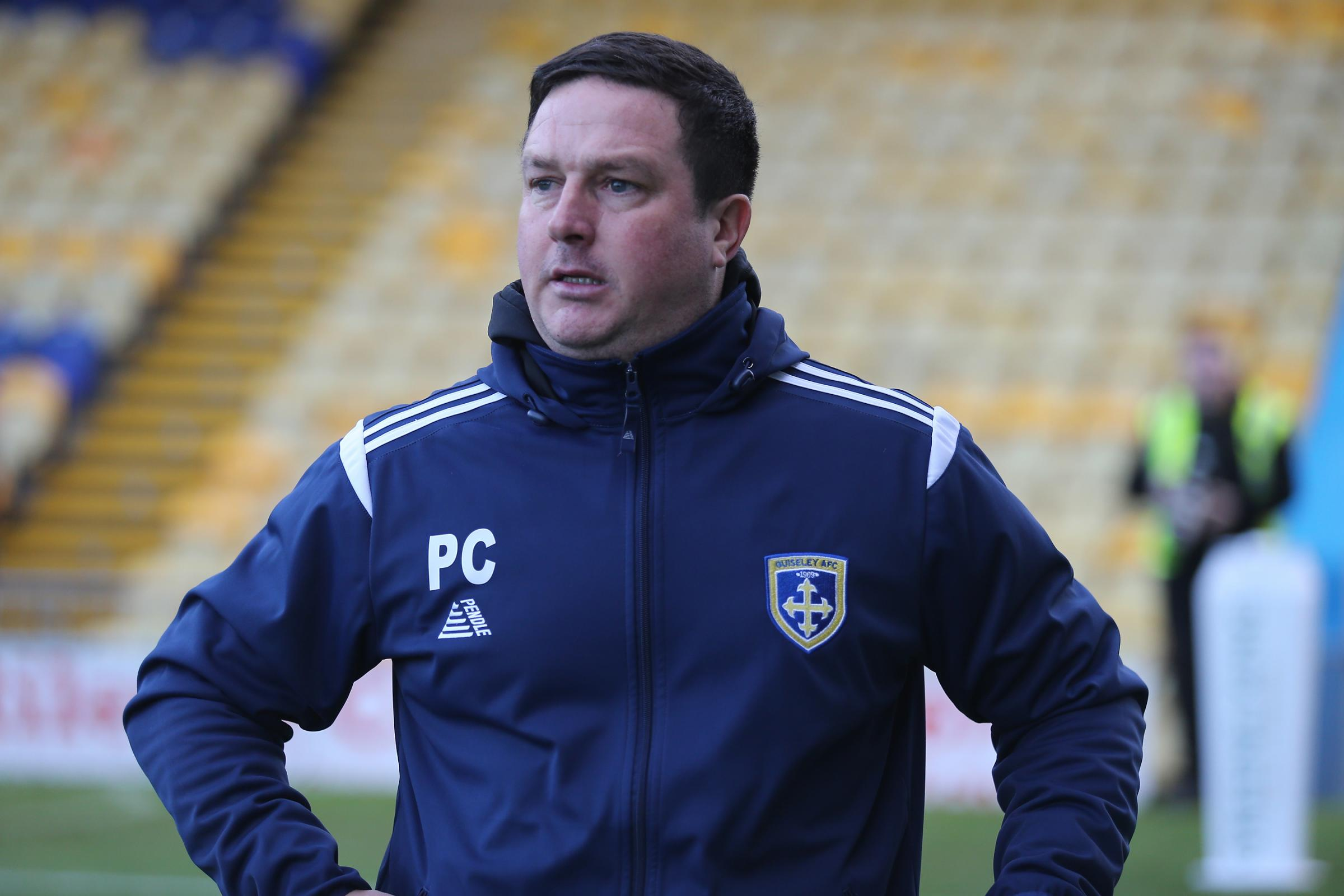 Paul Cox's Guiseley face a busy midweek