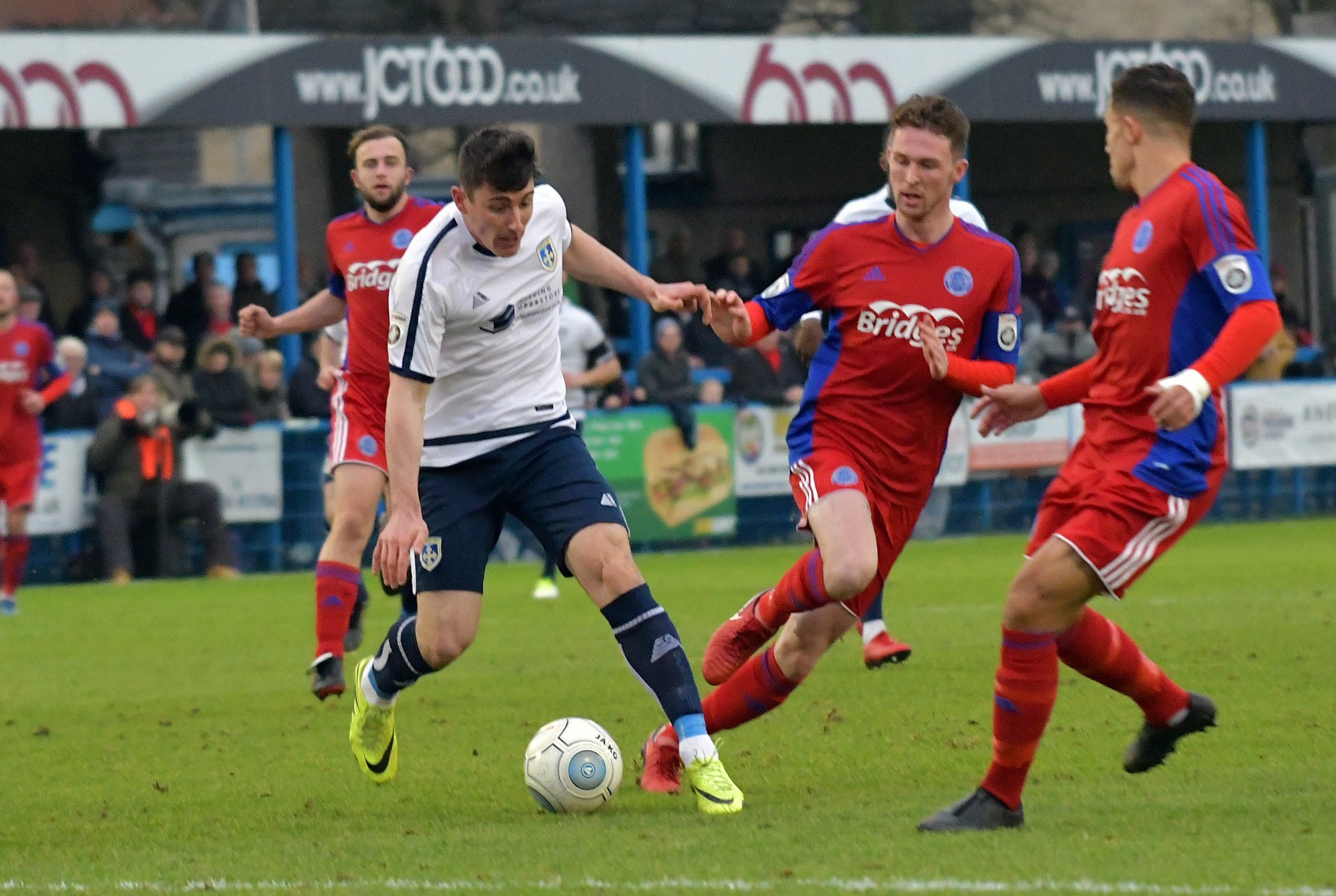 James Roberts netted his first goal for Guiseley