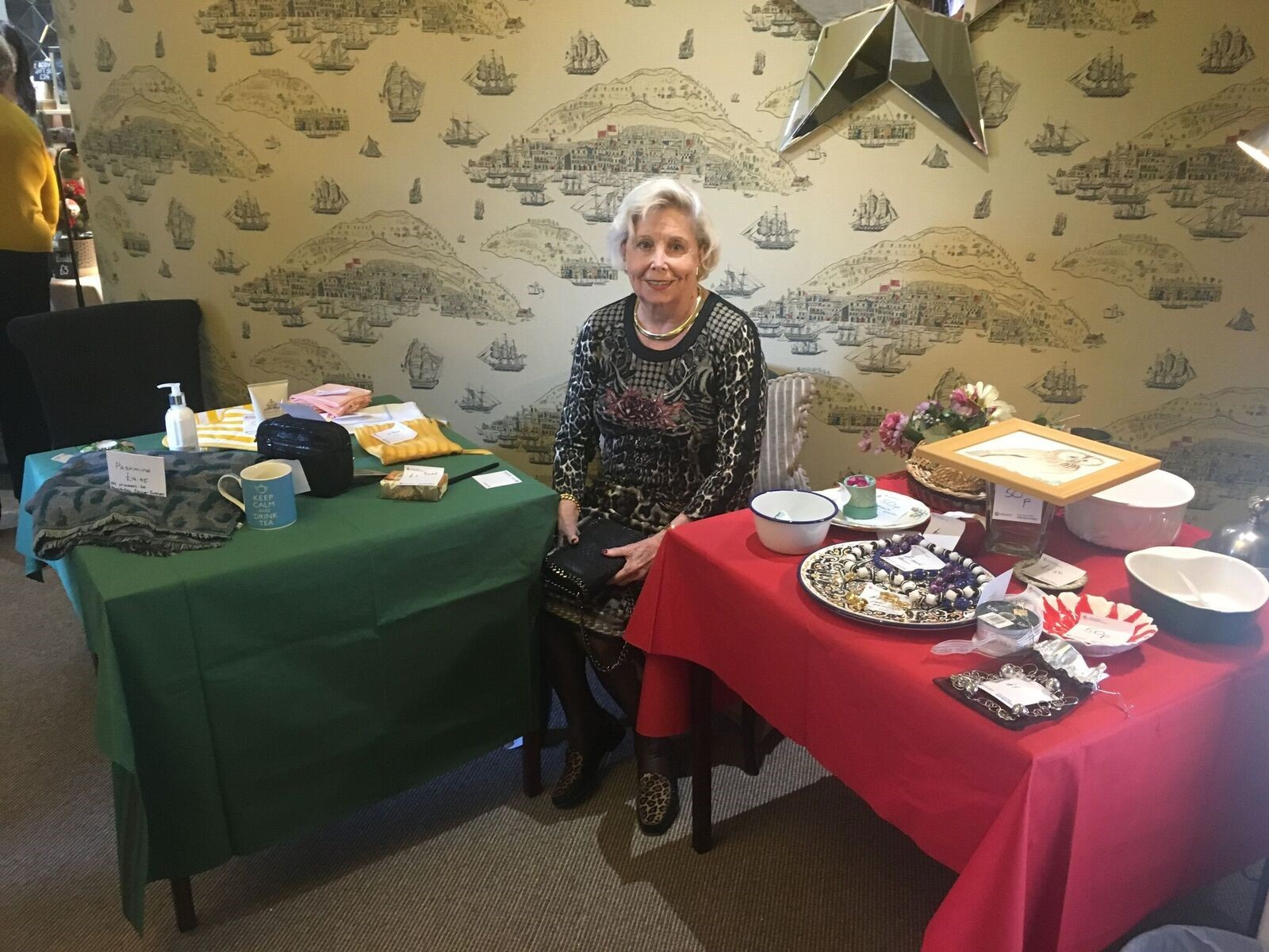 The Audley Clevedon Christmas fair raised £530 for Macmillan Cancer Support