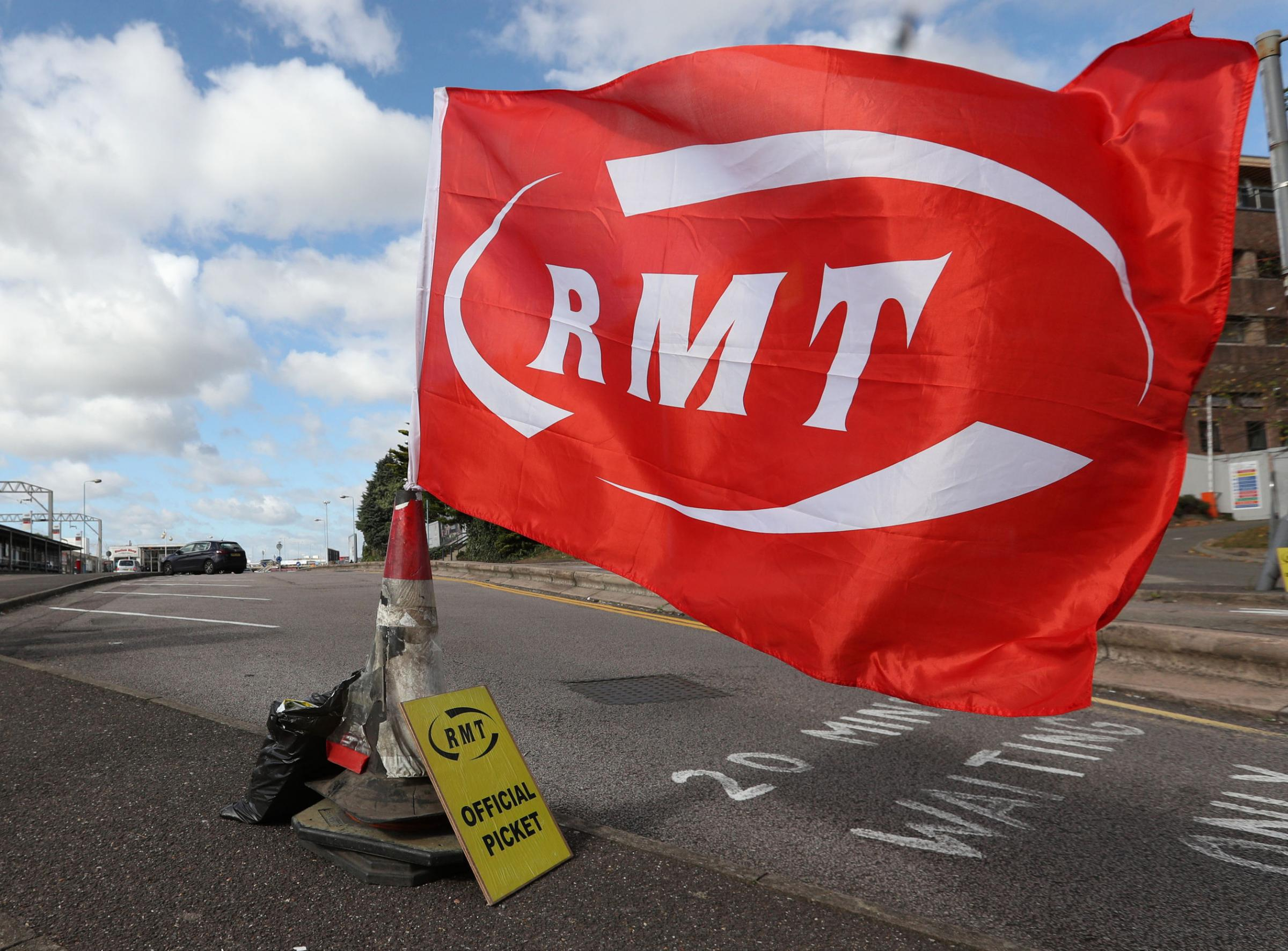 Members of the Rail, Maritime and Transport union (RMT) will walk out on Monday, Wednesday and Friday Photo credit: Jonathan Brady/PA Wire.