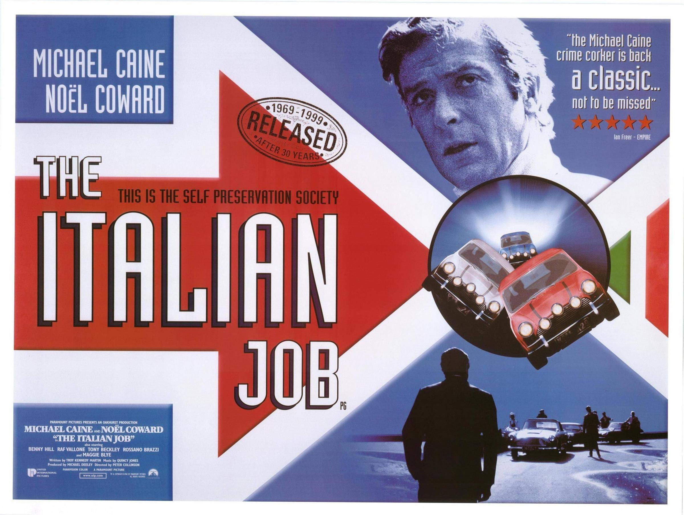 Film Screening: The Italian Job (1969)