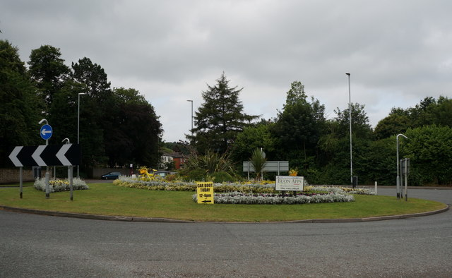 Otley roundabout where the walk will set off from on Saturday at 10am