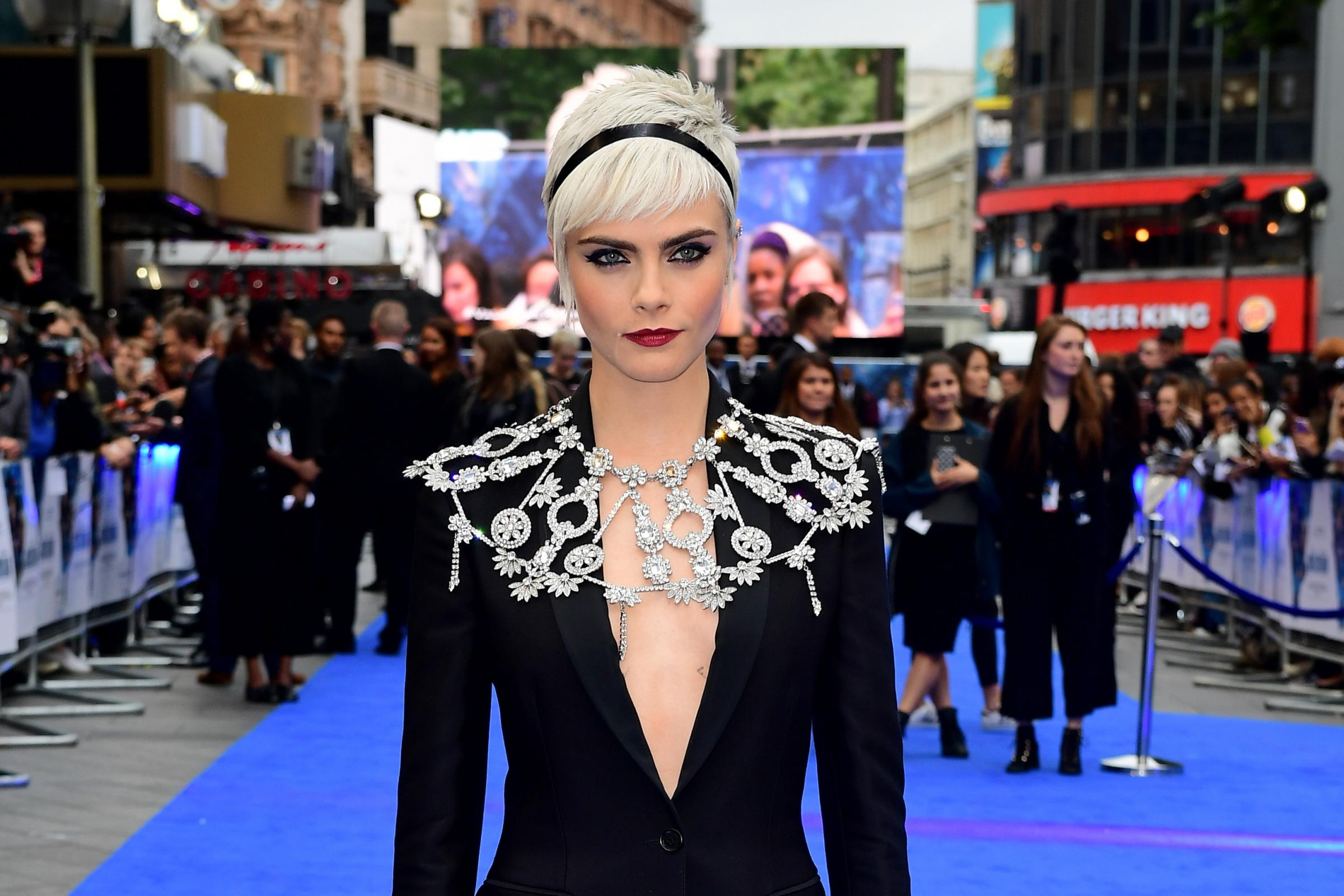 Cara Delevingne (Ian West/PA)