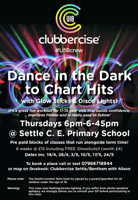 Clubbercise kids 11-15years classes