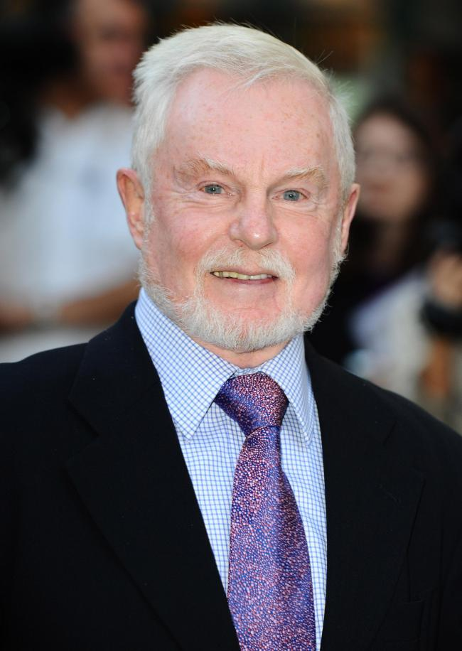 Sir Derek Jacobi Photo credit should read: Ian West/PA Wire