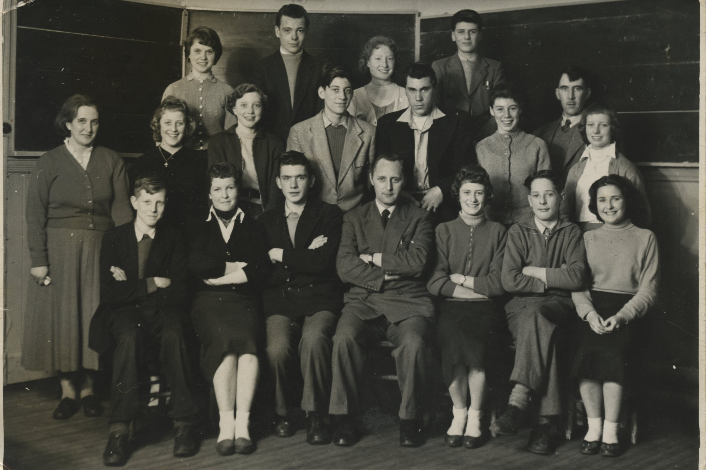 South View School pupils and teachers.