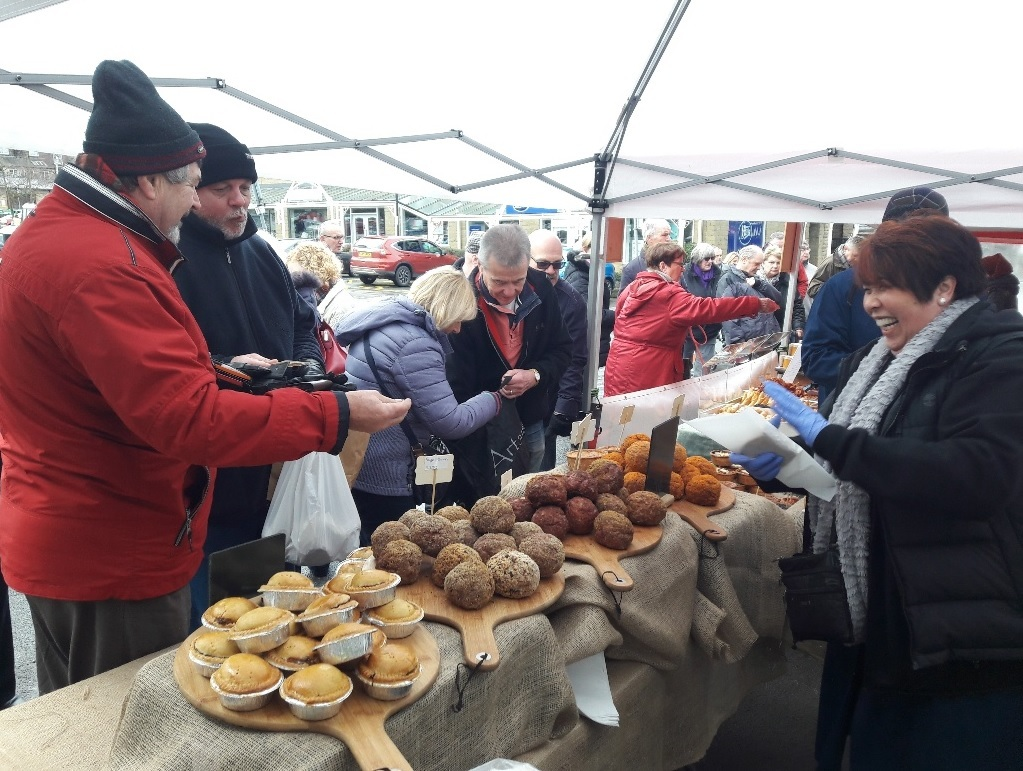 Ilkley Real Food Market is celebrating its second anniversary