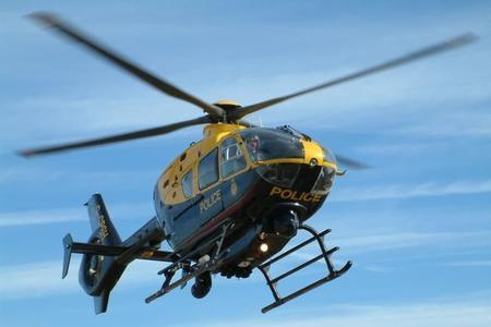 A police helicopter searching for a car in Horsforth was 'persistently' targeted by a laser