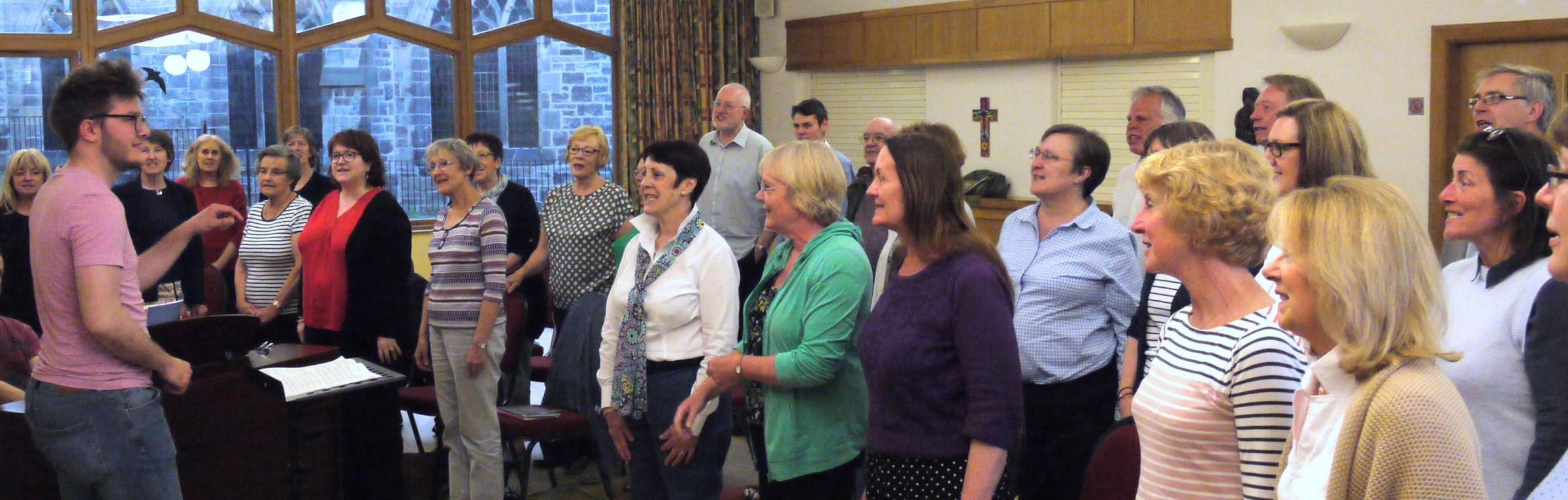 A singing workshop is to take place thanks to sponsorship by Ilkley Parish Council
